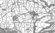 Old Map of Hillesley, 1881 - 1901
