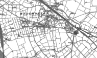 Old Map of Hillmorton, 1884 - 1903