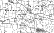 Old Map of Hilton, 1896