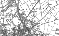 Old Map of Hitchin, 1897 - 1899