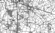 Old Map of Hockley, 1883