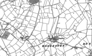 Old Map of Hoggeston, 1898
