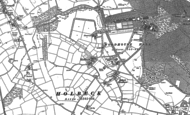 Old Map of Holbeck Woodhouse, 1896 - 1897