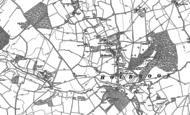 Old Map of Holbrook, 1881 - 1896