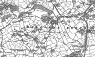 Old Map of Holcombe Rogus, 1903
