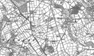 Old Map of Holestone, 1878 - 1879