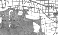 Old Map of Holkham, 1886 - 1904
