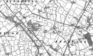 Old Map of Hollinsgreen, 1897