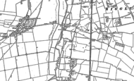 Old Map of Holme, 1882 - 1900