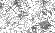 Old Map of Holme Marsh, 1885 - 1902