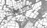 Old Map of Holt, 1885 - 1901