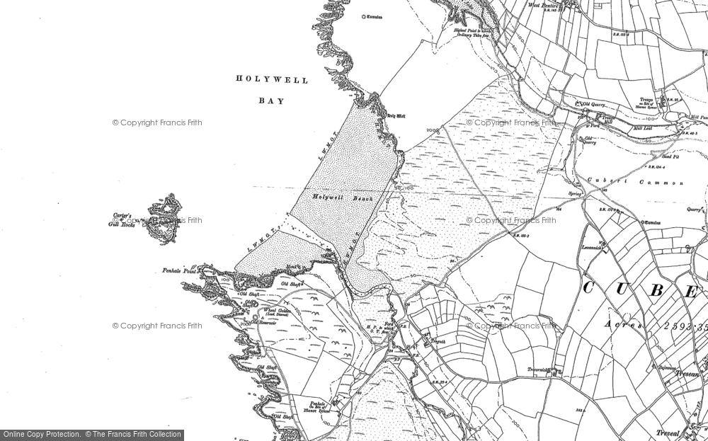 Holywell Bay, 1906