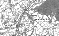 Old Map of Homersfield, 1903