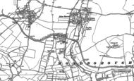 Old Map of Honeystreet, 1899