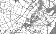 Old Map of Honnington, 1881 - 1901
