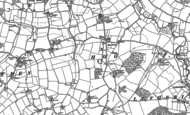 Old Map of Hoo, 1883