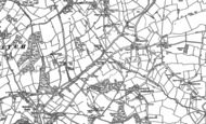 Old Map of Hook End, 1895