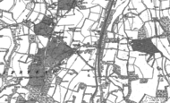 Old Map of Hooley, 1895