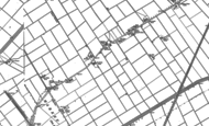 Old Map of Hop Pole, 1887