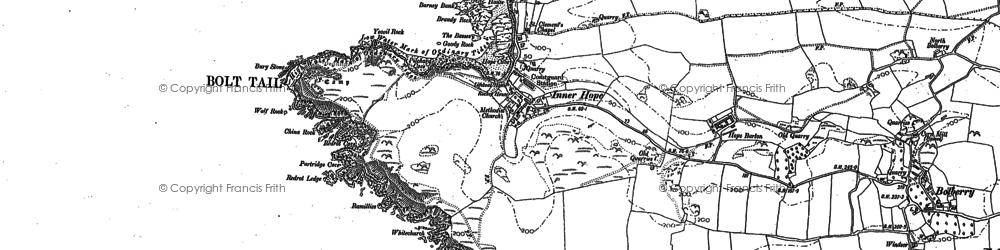 Old map of Yeovil Rock in 1905