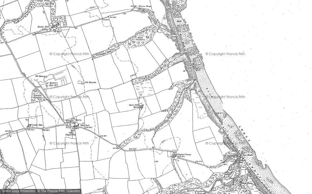 Map of Horden, 1896 - 1897