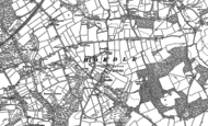 Old Map of Hordle, 1896 - 1907