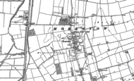 Old Map of Horkstow, 1886
