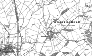 Old Map of Horninghold, 1902
