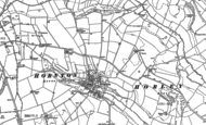 Old Map of Hornton, 1899