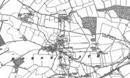 Old Map of Horseheath, 1885 - 1901