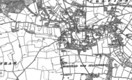 Old Map of Horstead, 1880 - 1885