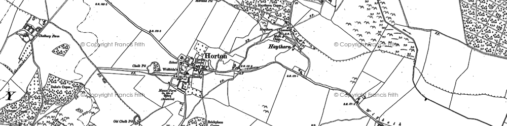 Old map of Wigbeth in 1900