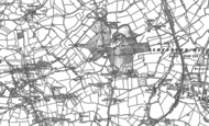 Old Map of Horton Cross, 1886 - 1901