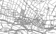 Old Map of Houghton, 1887 - 1900