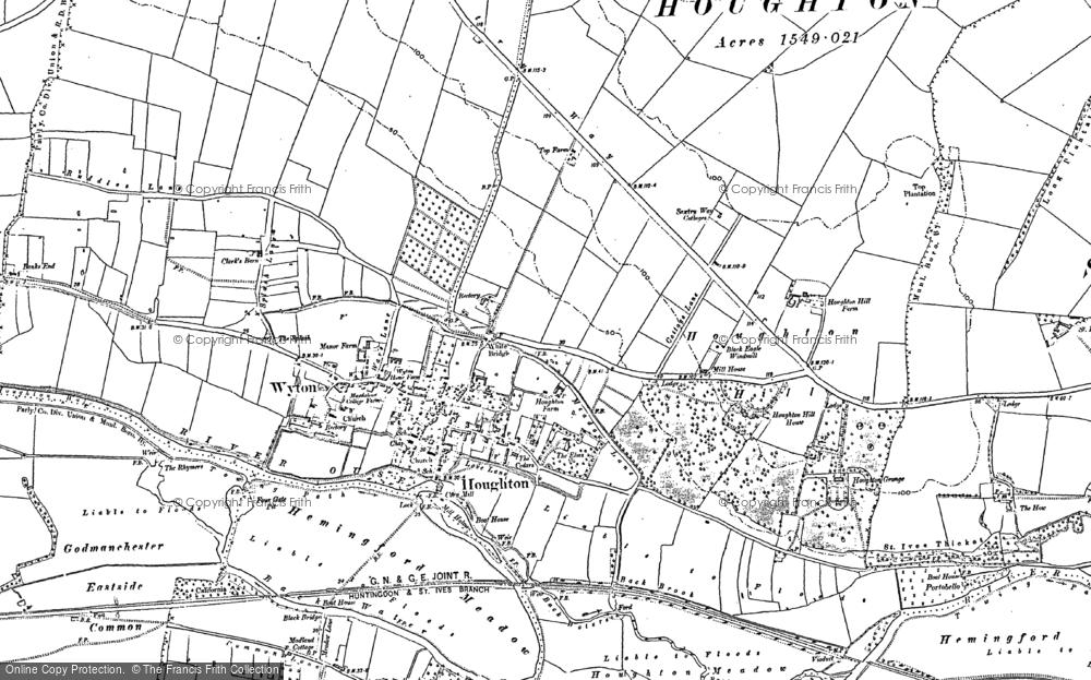 Houghton, 1887 - 1900