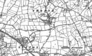 Old Map of Houndstone, 1886 - 1901