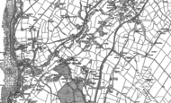 Old Map of Howgate, 1923