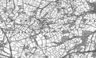 Old Map of Hoylandswaine, 1891