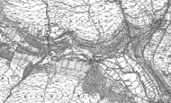 Old Map of Hubberholme, 1907