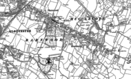 Old Map of Hucclecote, 1883 - 1884