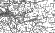Old Map of Huish Episcopi, 1885 - 1886