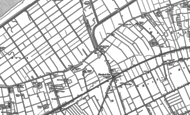 Old Map of Hundred End, 1891 - 1893