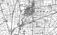 Old Map of Huntington, 1890 - 1891