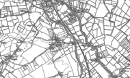 Old Map of Huntworth, 1886 - 1887