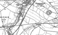 Old Map of Hurdcott, 1899 - 1923