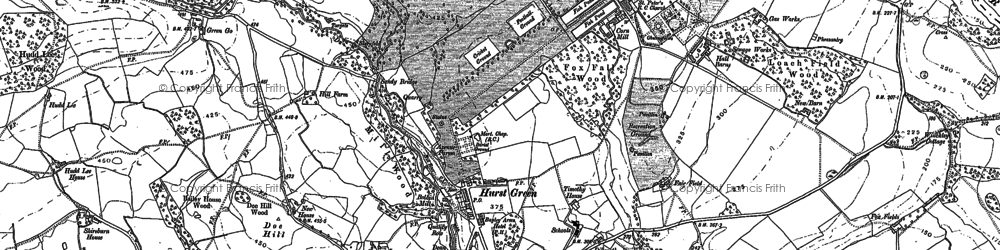 Old map of Bailey Ho in 1892