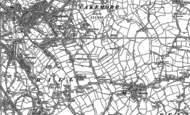 Old Map of Hurst Green, 1902