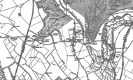 Old Map of Hurstbourne Priors, 1894