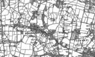 Old Map of Hurstpierpoint, 1896