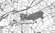 Old Map of Husbands Bosworth, 1885 - 1899